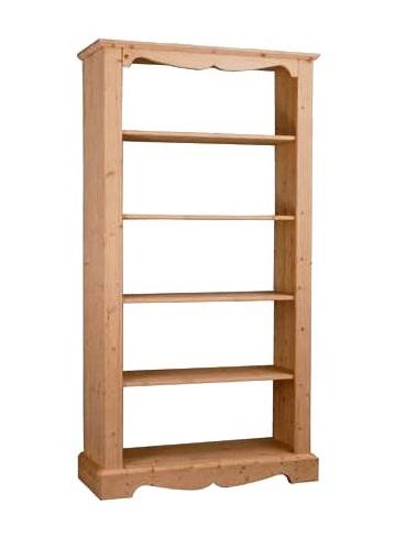 Libreria luce legno massello mod.60