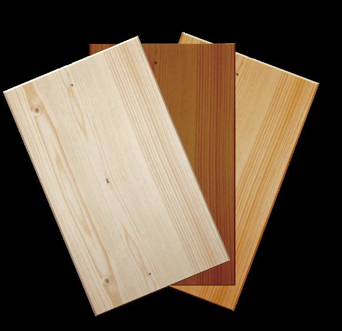 Antine in abete massello su misura liscia su misura for Antine in legno grezzo per cucina
