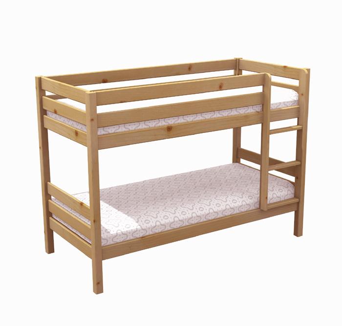 Vendita on line scala per letto a soppalco tutte le - Letto a castello in legno massello ...