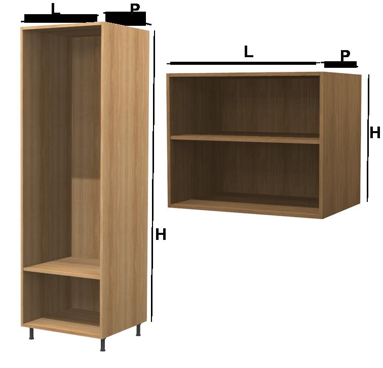 modulo wood su misura in legno