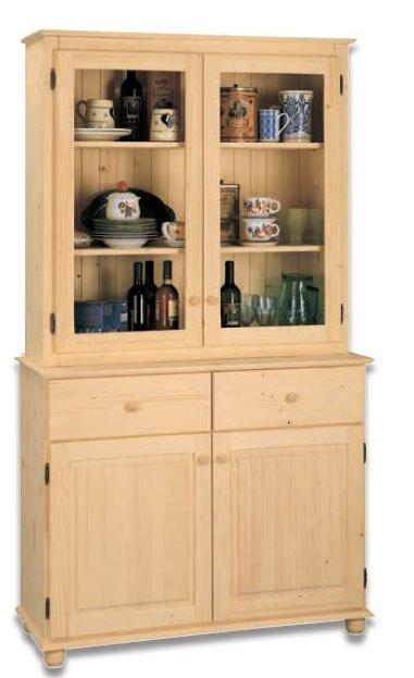 Credenza con vetrina Toscana negozio online mybricoshop.com