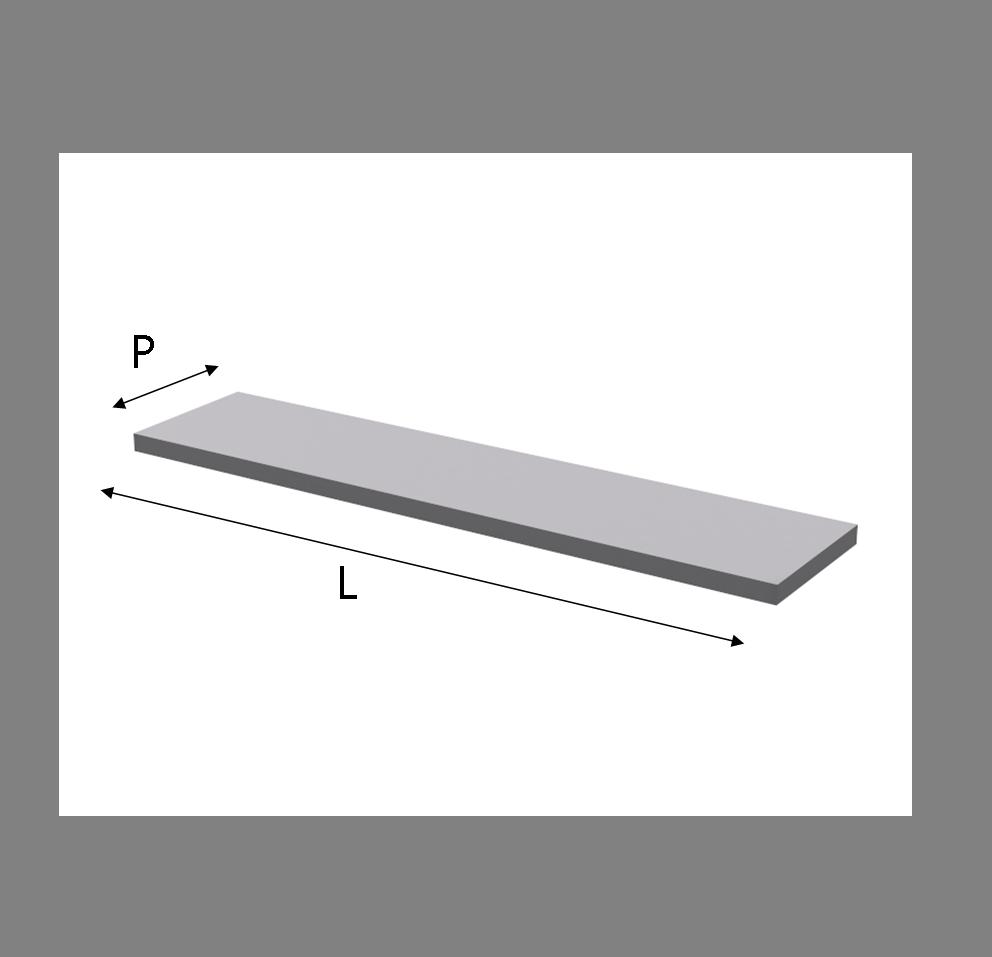 Mensole Laccate Su Misura.Mensola Per Q Box Laccata In Melaminico Su Misura
