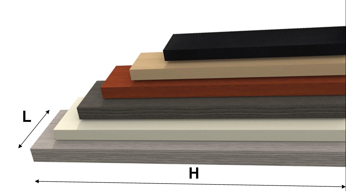 Mensola svuotatasche legno emme idee per il design della for Mensole ciliegio