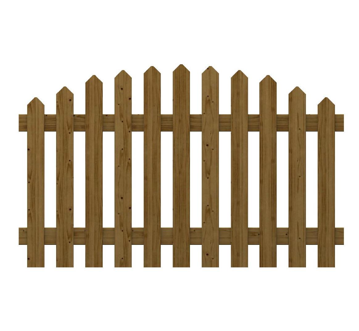 Recinzione in legno impregnato martha onda for Recinzione legno