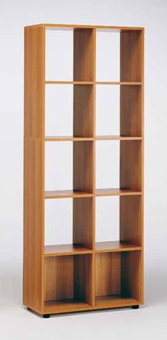 Libreria sistema modulo 41 80 negozio online for Librerie in legno componibili