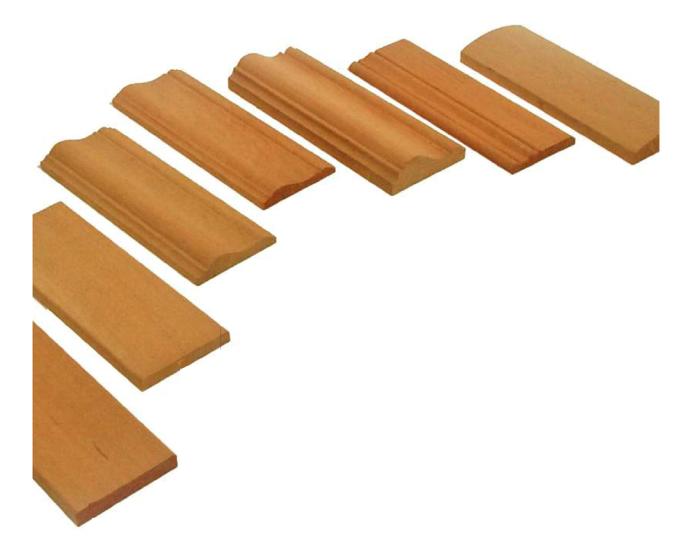 Mostre in legno massello