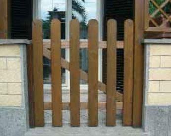 Cancelletto In Legno : Cancelletto in legno impregnato linda