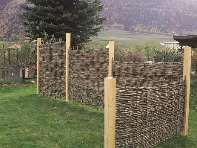Elemento per recinzione in nocciolo negozio online - Recinzioni mobili per giardino ...