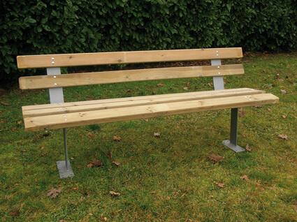 Panchina in legno e acciaio roma for Corrimano in legno roma