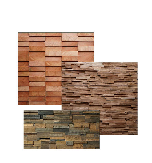 Pannelli 3d in legno tridimensionali - Pannelli polistirolo decorativi per interni ...