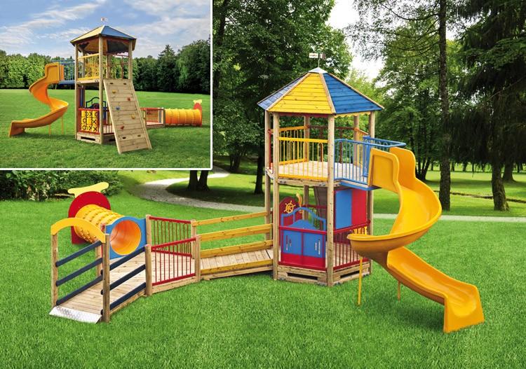 Fortino parco giochi Arcobaleno-785x616 cm