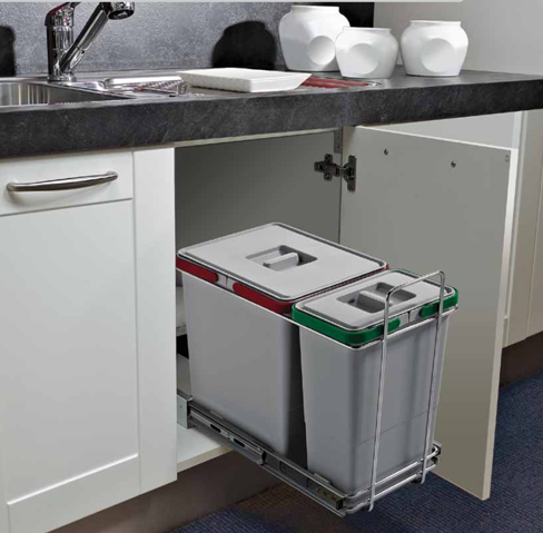Mobili per pattumiera design casa creativa e mobili - Pattumiere per cucina ...