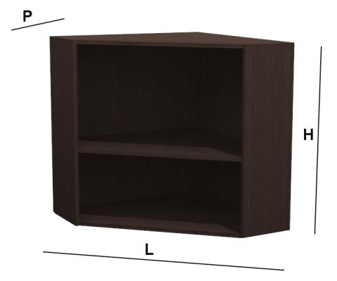 Base e pensile ad angolo diagonale kitchen - Base angolo cucina misure ...