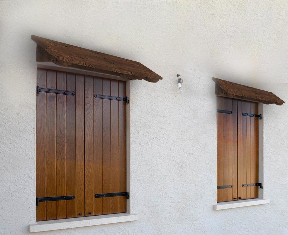 Pensilina coprifinestra silvia - Tettoie per finestre ...