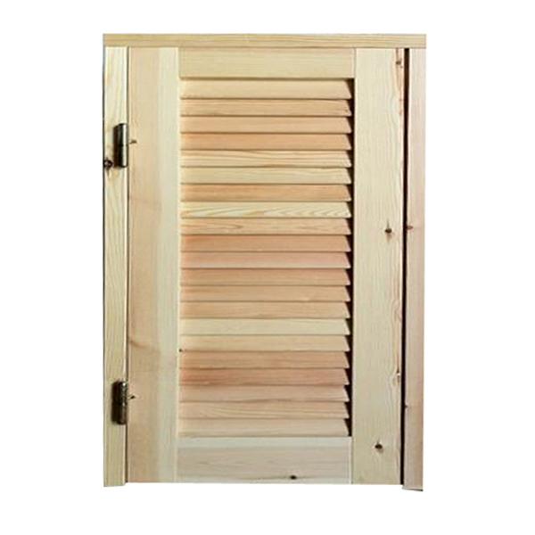Persiana in legno 1 anta con telaio su misura