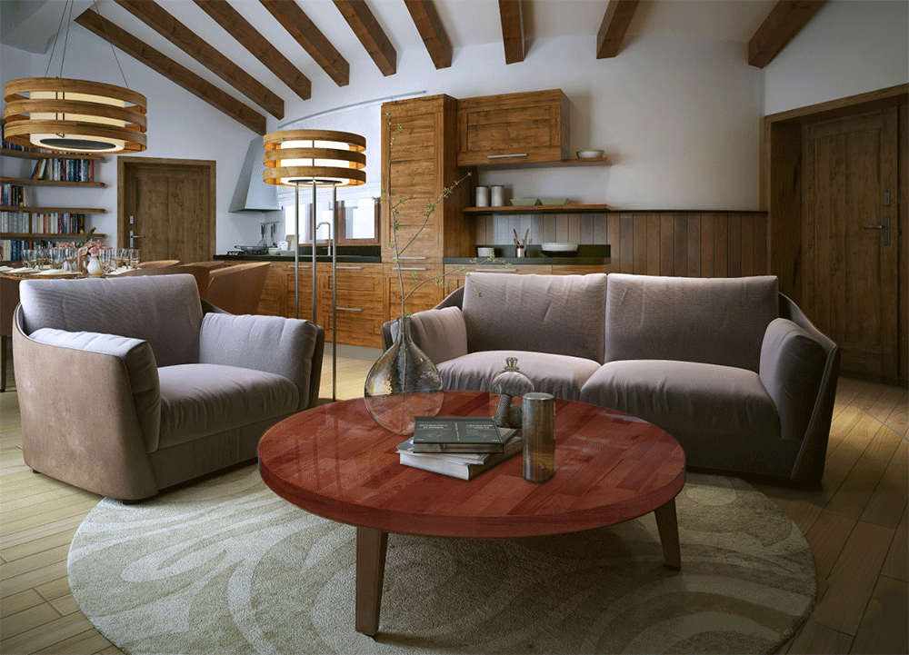 Piano Cucina In Legno Lamellare : Piano cucina in legno lamellare massello quaato e tondor