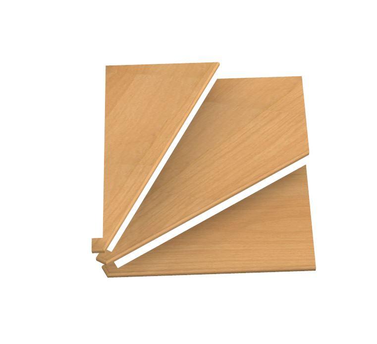 Pi d 39 oca fazzoletti a tre ventagli in faggio for Ventagli spagnoli in legno