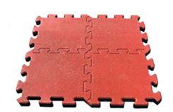 Pavimentazione antitrauma polytrauma in gomma riciclata
