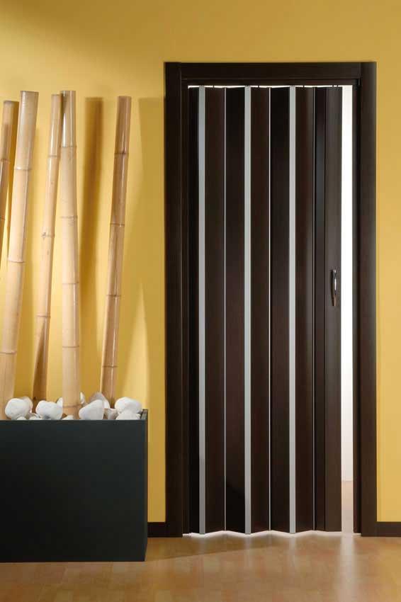 Porta a soffietto Design effetto 3D in PVC