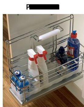 Cestello estraibile per mobili sottolavello - Cestelli estraibili per cucine ...