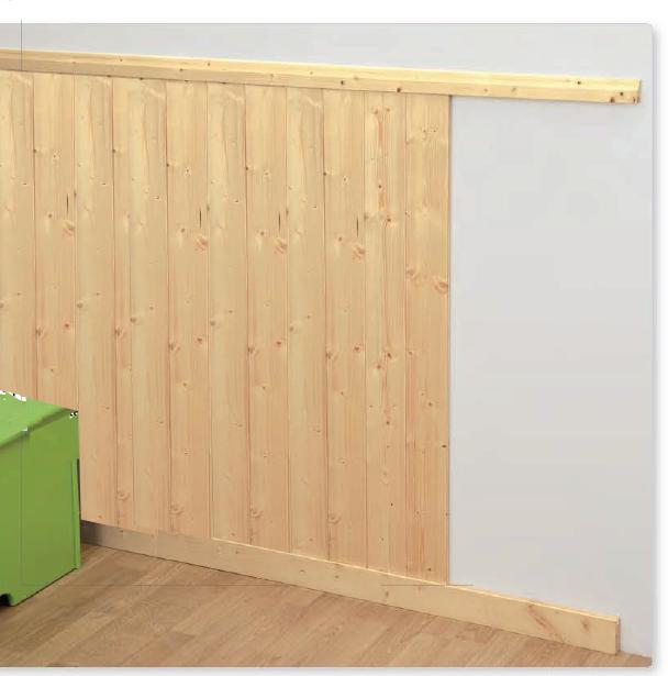 Profili perimetrali per boiserie fantasia for Boiserie in legno ikea