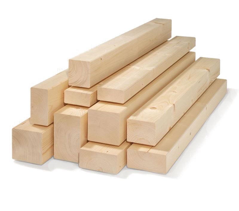 Pali in legno travi in abete massello piallato grezzo - Tavole legno massello ...