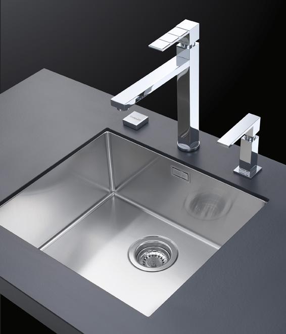 Vasche lavello quadre negozio online - Lavello cucina sottotop ...