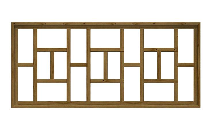 Recinzione in legno impregnato crina for Recinzione legno
