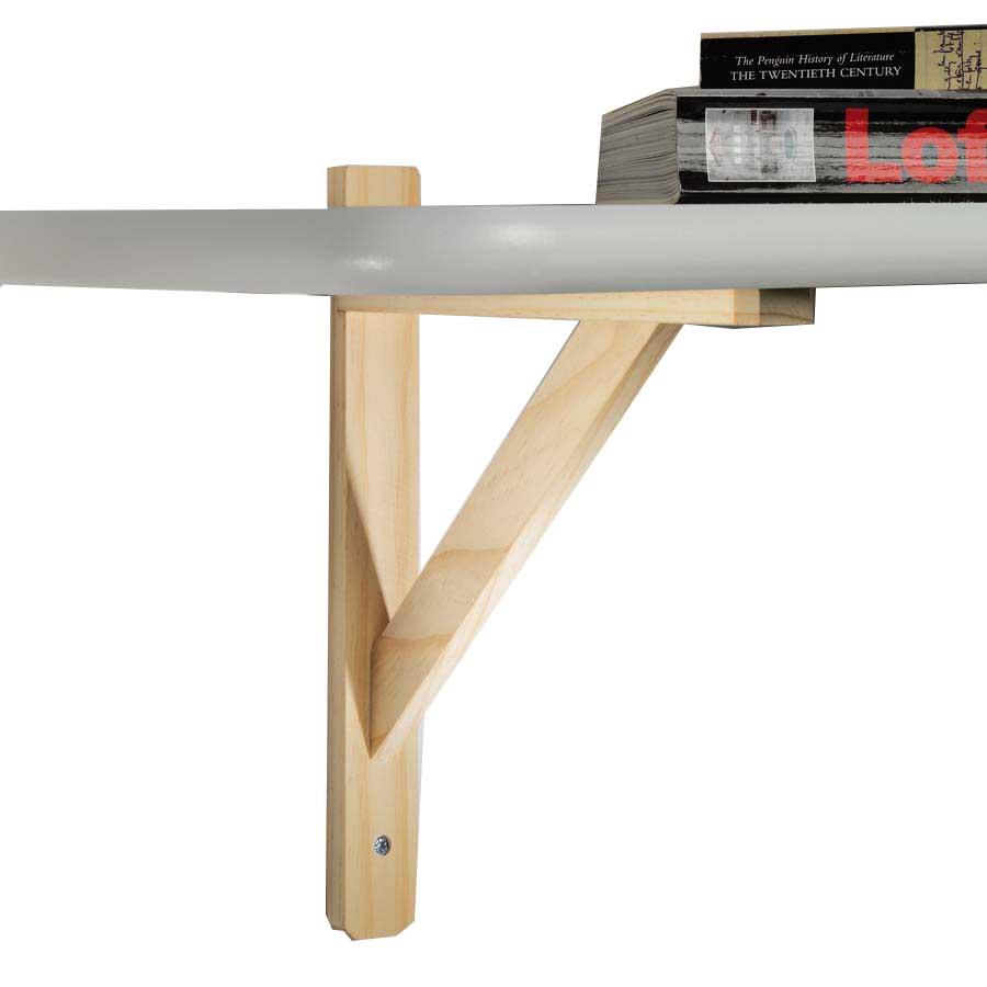 Reggimensola triangolo in legno for Vendita legno online