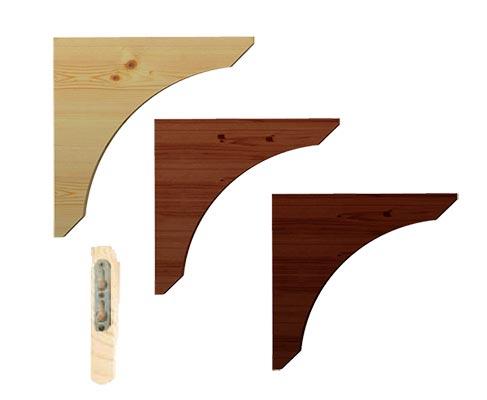 Reggimensola classica in legno negozio online for Vendita legno online