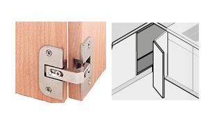 Cerniere e accessori per mobili - Cerniere per ante cucina 180 gradi ...