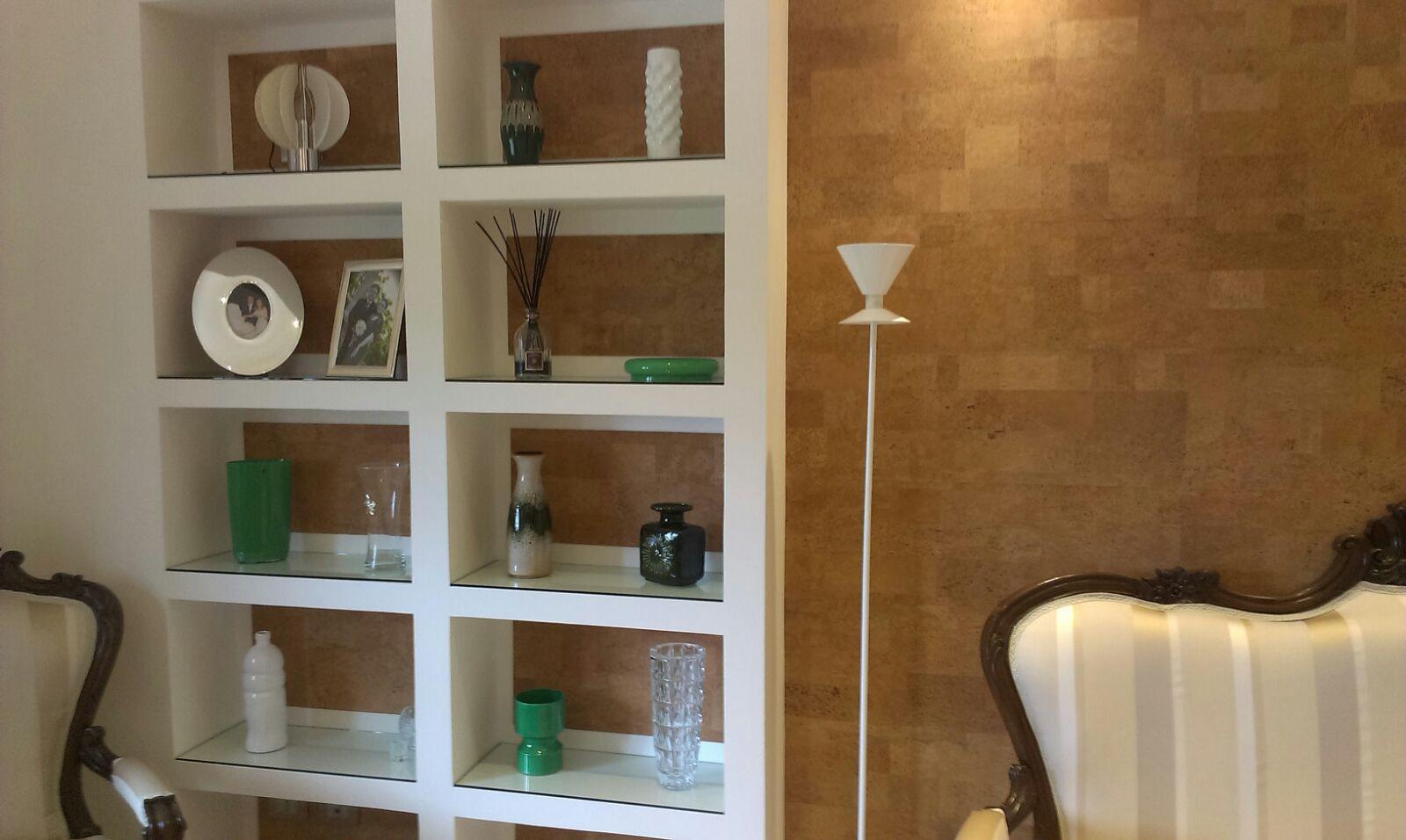 Pareti Rivestite Di Legno : Rivestimento sughero per pareti e soffitti