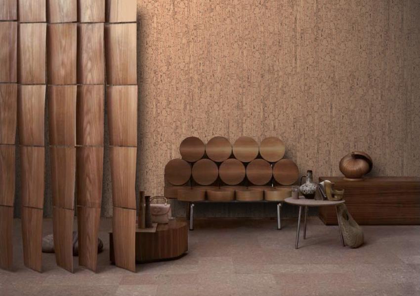 Rivestimento sughero per pareti e soffitti - Rivestimento decorativo pareti ...