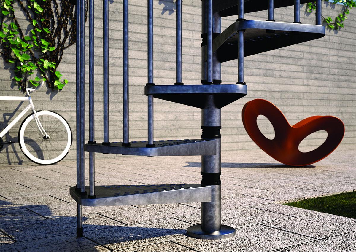 Scala Da Esterno In Kit : Scala in ferro per esterno fai da te modelli di scale esterne
