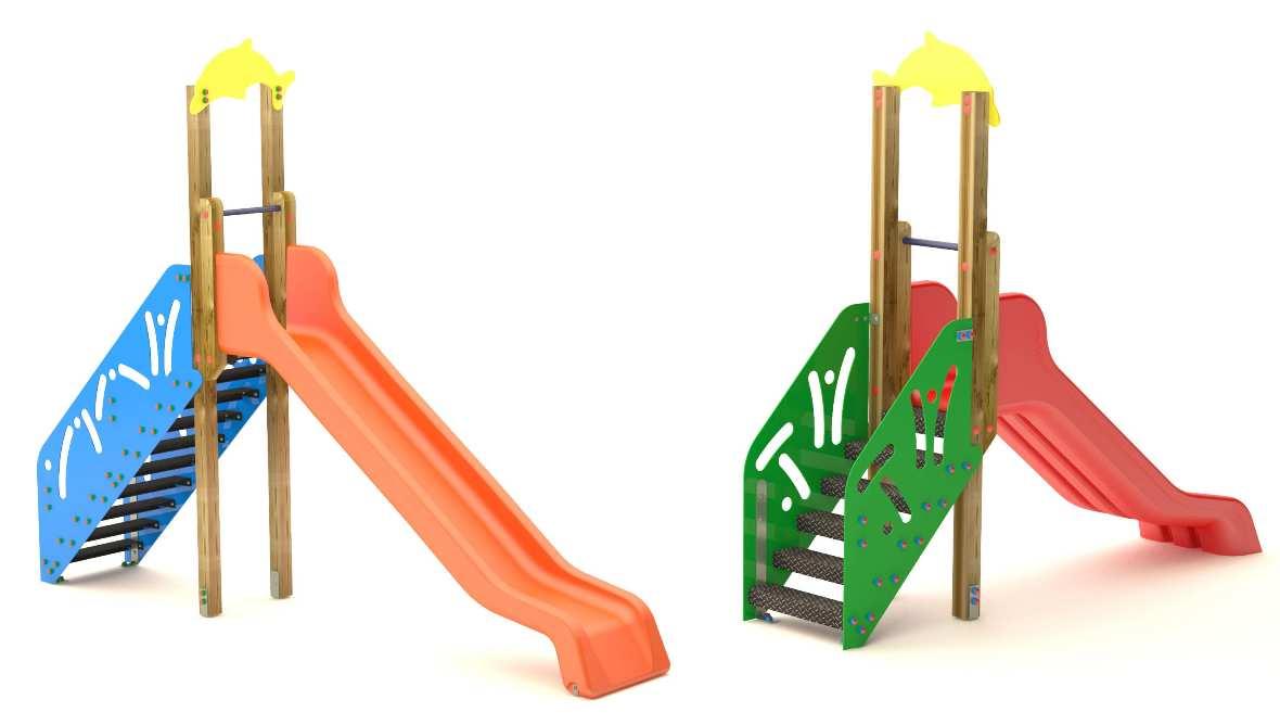 Scivolo per bambini saliscendi per uso pubblico negozio for Scivolo per bambini ikea