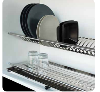 scolapiatti in acciaio per pensili - Pensili Inox Per Cucina