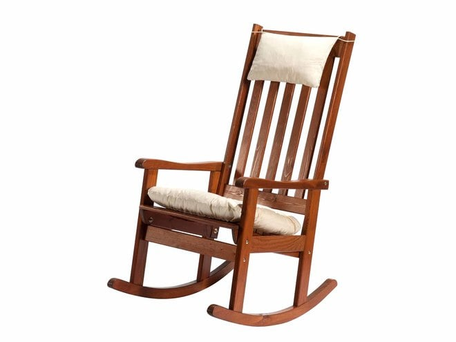 Sedia a dondolo da giardino dolomiti in pino negozio - Sedia a dondolo ...