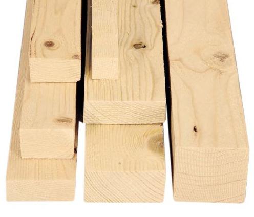 Tavola grezza in legno di abete segato