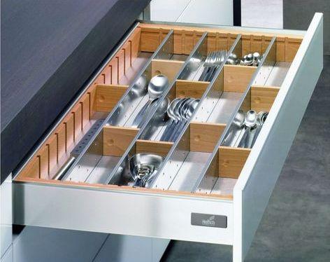 Portaposate in acciaio inox - Portaposate per cassetti ...
