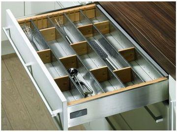 Portaposate in acciaio inox negozio online - Portaposate per cassetti ...