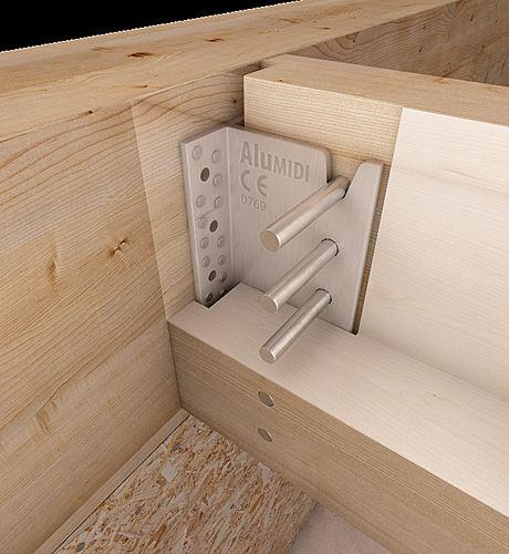 Staffa alu - Fissaggio mobili a parete ...