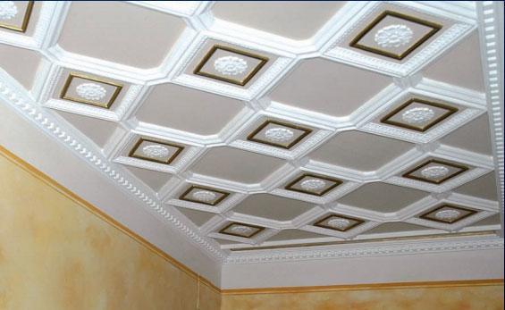 Decorazione per soffitto in gesso