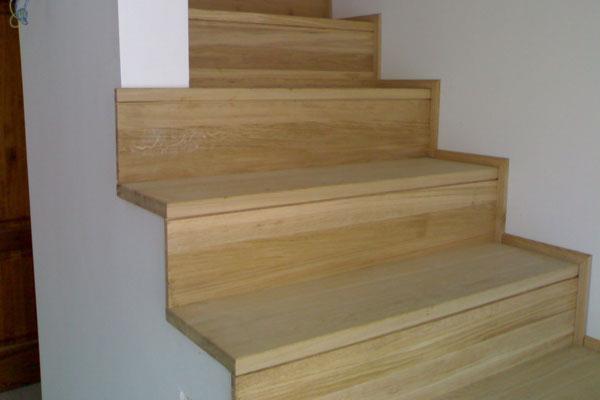 Gradino in legno di faggio e rovere finger joint for Gradini in legno massello prezzo