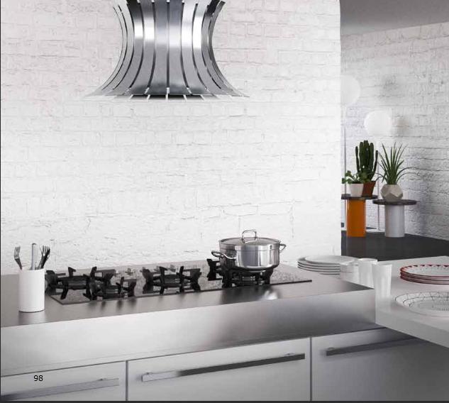 Top per cucine in acciaio INOX