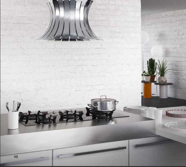 Awesome Piani In Acciaio Per Cucine Contemporary - Design & Ideas ...