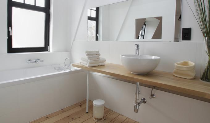 Top lavabo lamellare fj su misura - Top bagno su misura ...