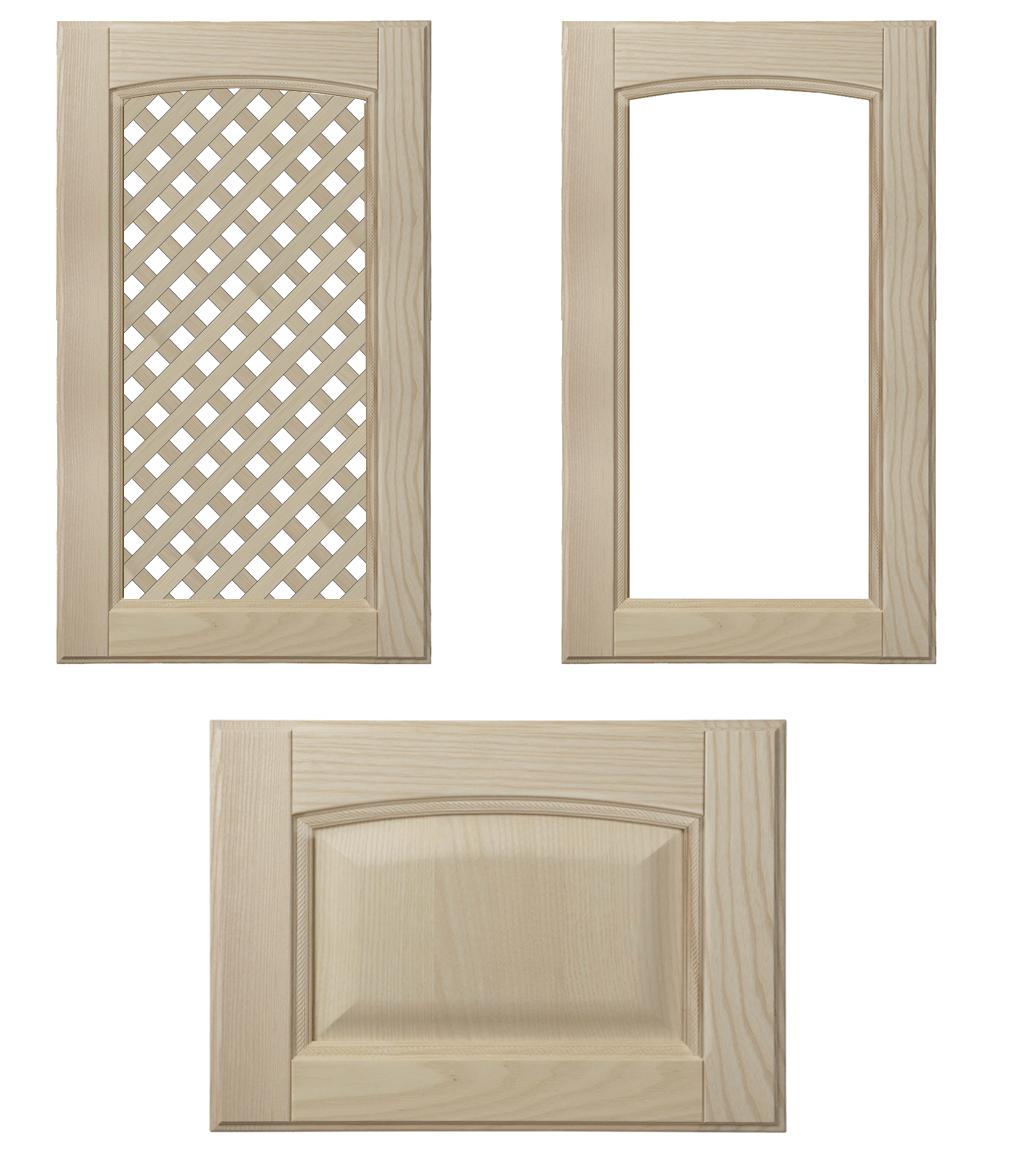 telai in legno con misure per vetromattoni misure standard : Anta in legno di frassino grezzo Vittoria