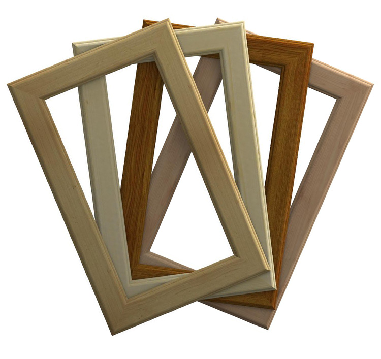 Antine vuote su misura in legno massello for Antine in legno grezzo per cucina