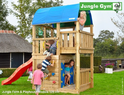 Playhouse module per torrette gioco_Jungle Gym -mybricoshop