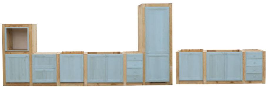 Strutture per cucine in muratura su misura - Strutture per cucine componibili ...